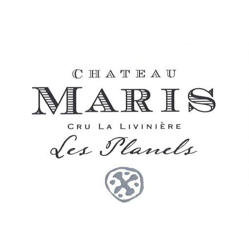 Chateau Maris Natural Selection Syrah 2013 Front Label