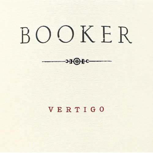 Booker Vineyard Vertigo 2015 Front Label