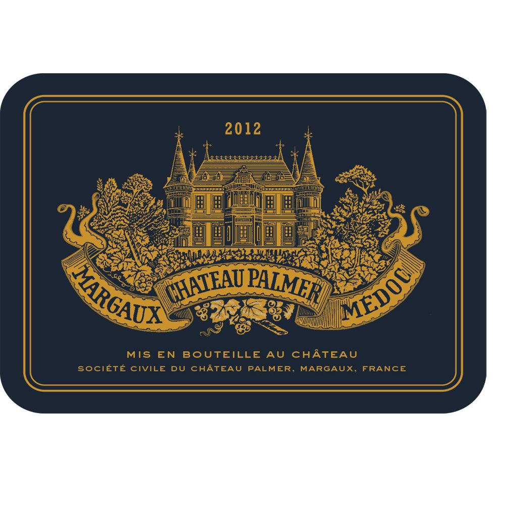 Chateau Palmer  2012 Front Label