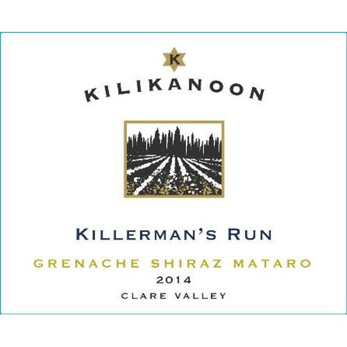 Kilikanoon Killerman's Run GSM 2014 Front Label