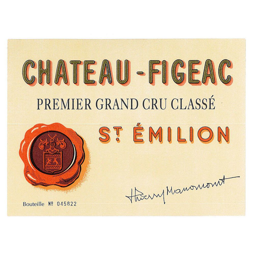 Chateau Figeac  2010 Front Label