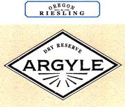 Argyle Dry Reserve Riesling 1997 Front Label