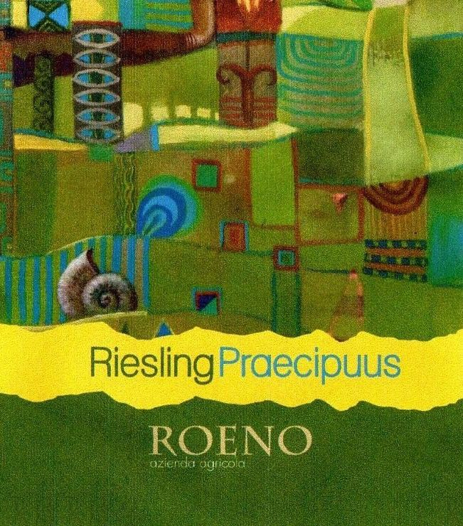 Cantina Roeno Praecipuus Riesling 2015 Front Label