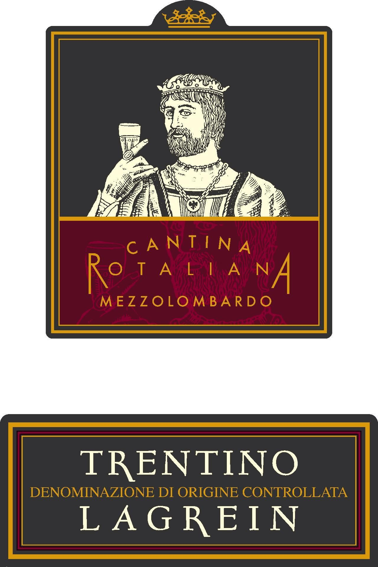 Cantina Rotaliana Trentino Lagrein 2013 Front Label
