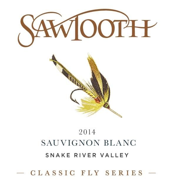 Sawtooth Classic Fly Series Sauvignon Blanc 2014 Front Label