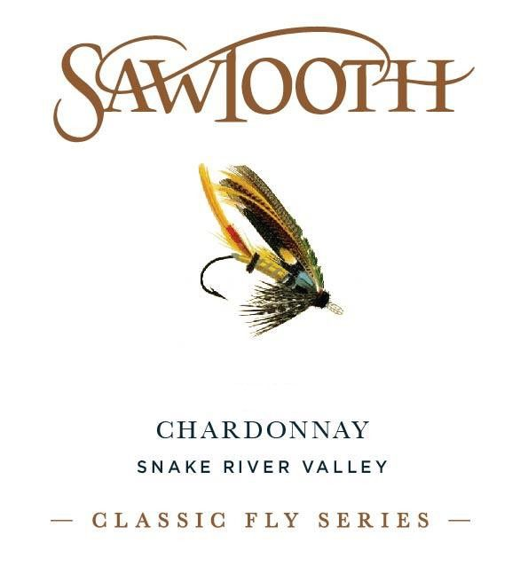 Sawtooth Classic Fly Series Chardonnay 2013 Front Label