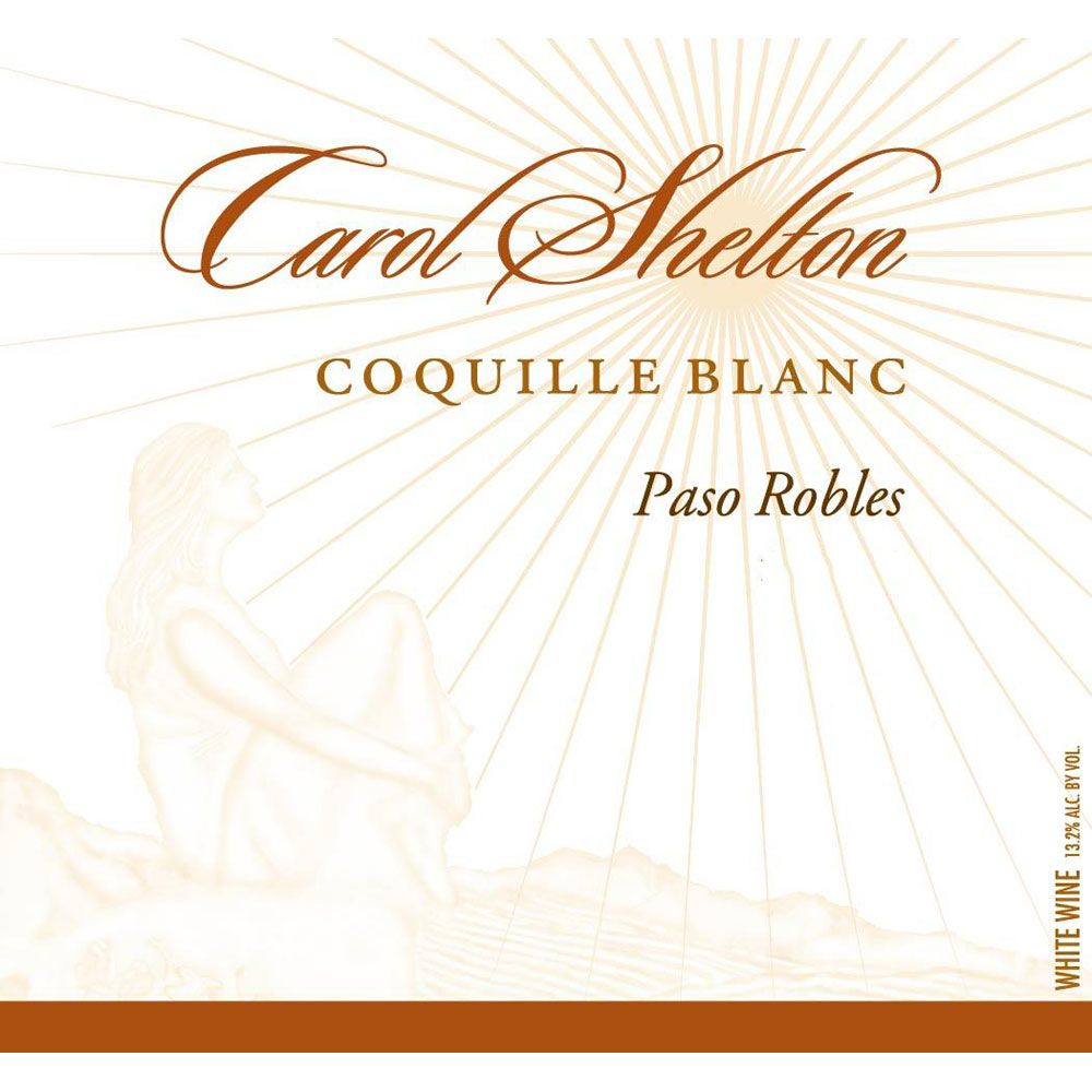 Carol Shelton Coquille Blanc 2015 Front Label