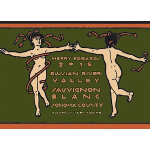 Merry Edwards Sauvignon Blanc (375ML half-bottle) 2015 Front Label