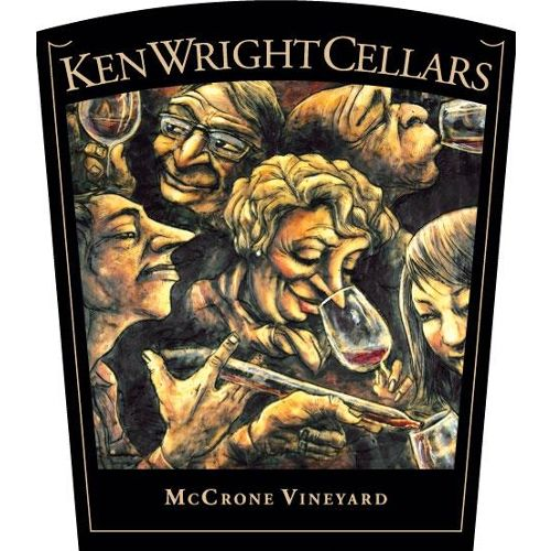 Ken Wright Cellars McCrone Vineyard Pinot Noir 2015 Front Label