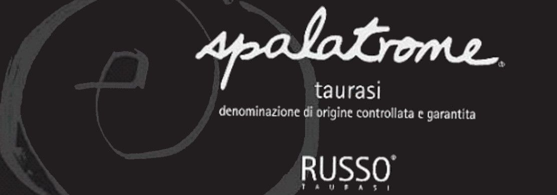 Cantine Russo Taurasi Spalatrone 2006 Front Label