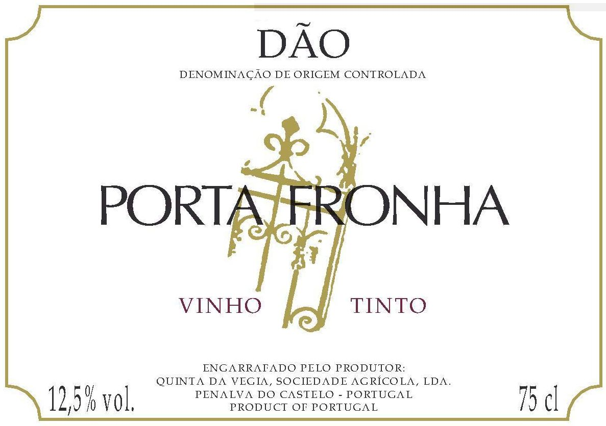 Casa de Cello Dao Porta Fronha 2006 Front Label