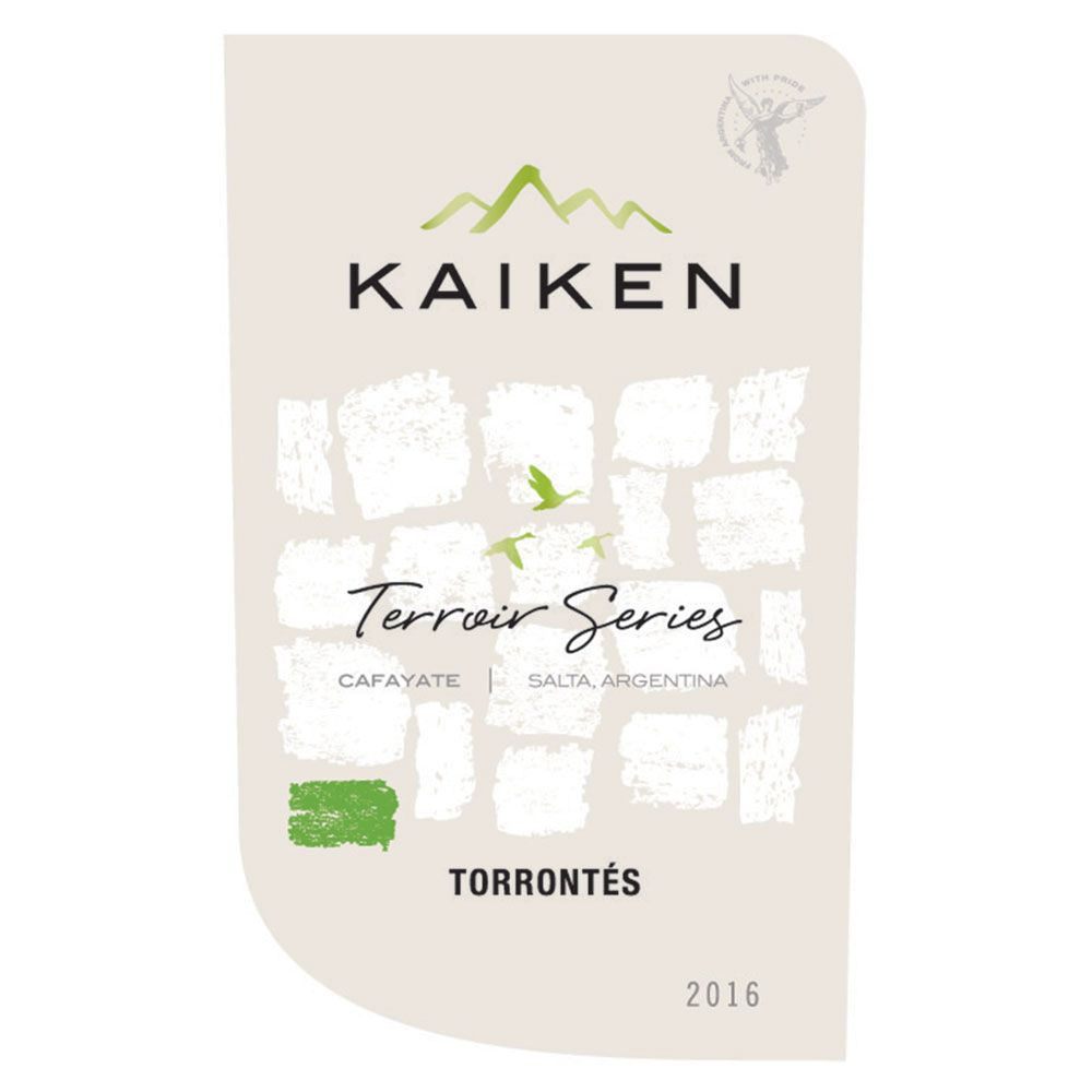 Kaiken Terroir Series Torrontes 2016 Front Label