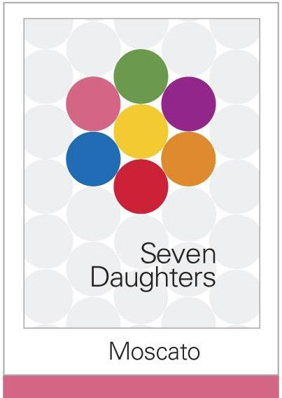 Seven Daughters Moscato 2013 Front Label