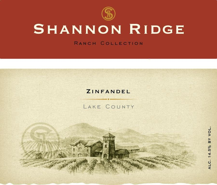 Shannon Ridge Ranch Collection Zinfandel 2011 Front Label