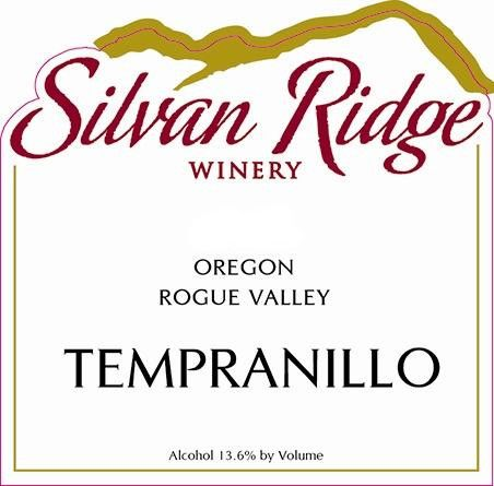 Silvan Ridge Tempranillo 2013 Front Label