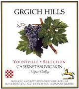 Grgich Hills Estate Yountville Selection Cabernet Sauvignon 1994 Front Label