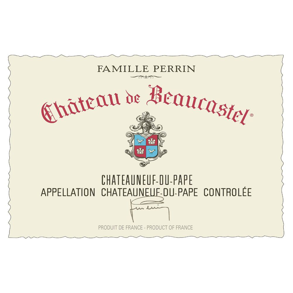 Chateau de Beaucastel Chateauneuf-du-Pape (3 Liter Bottle) 2009 Front Label
