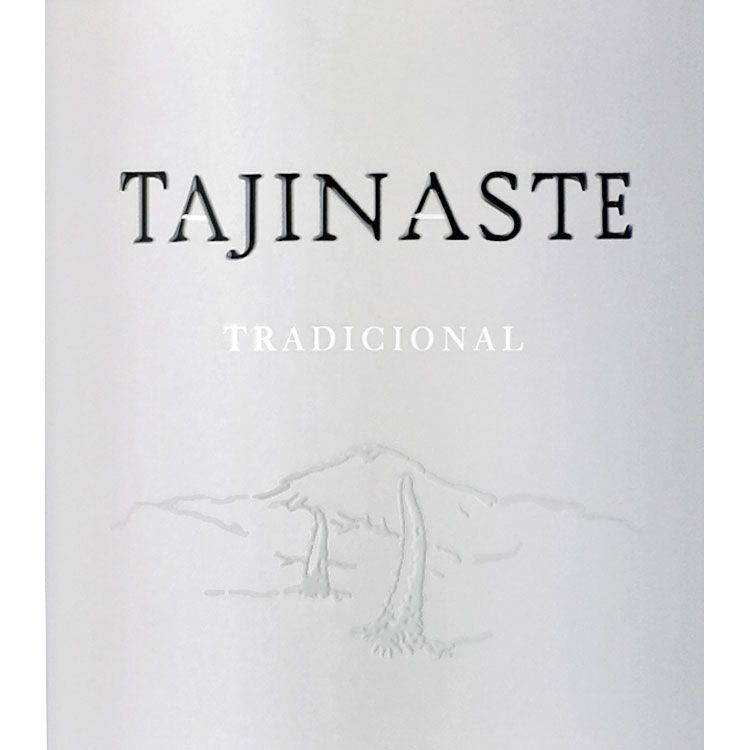 Bodega Tajinaste Canary Islands Traditional Listan Negro 2015 Front Label