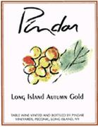 Pindar Long Island Autumn Gold Front Label