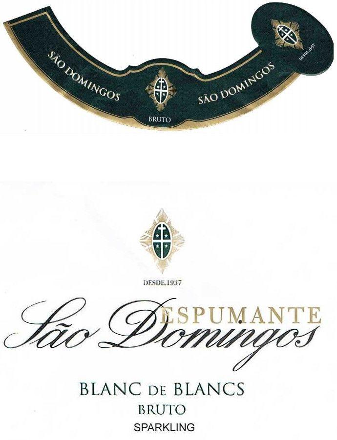 Caves Solar do Sao Domingo Espumante Blanc de Blancs Bruto 2011 Front Label