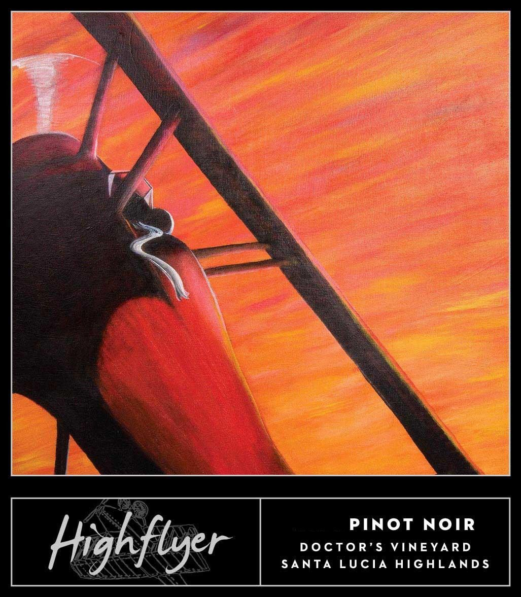 High Flyer Doctor's Vineyard Pinot Noir 2012 Front Label