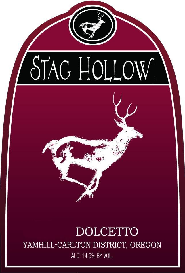 Stag Hollow Yamhill-Carlton District Dolcetto 2008 Front Label