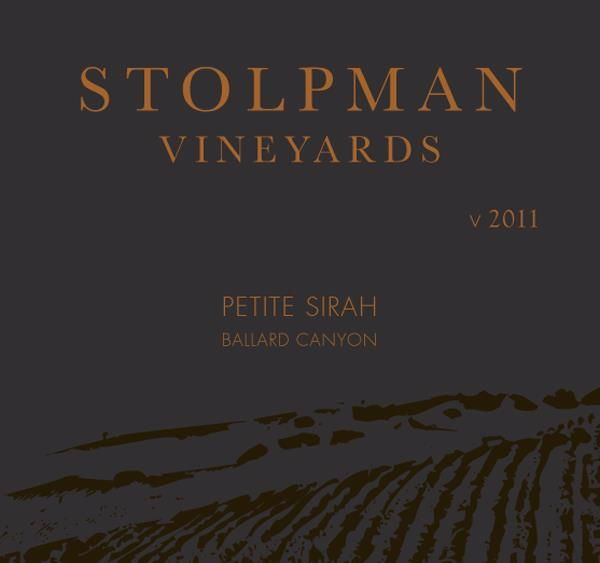 Stolpman Vineyards Petite Sirah 2011  Front Label