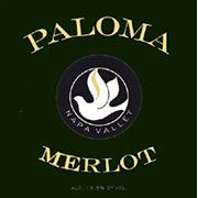 Paloma Spring Mountain Merlot 2003 Front Label