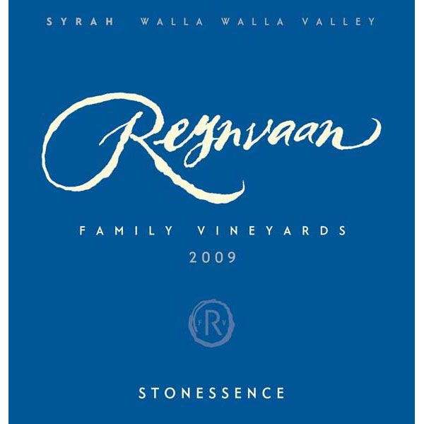 Reynvaan In The Rocks Syrah 2009 Front Label