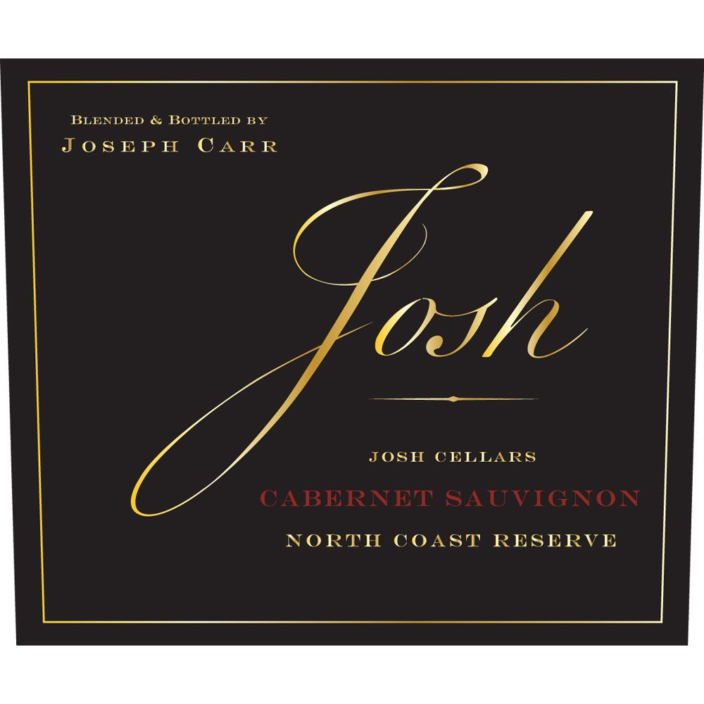 Josh Cellars North Coast Reserve Cabernet Sauvignon 2015 Front Label