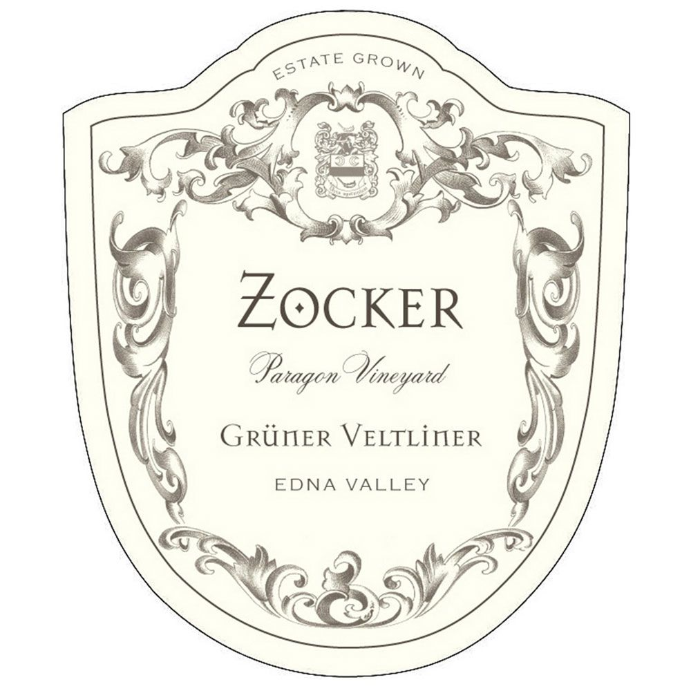 Zocker Paragon Vineyard Gruner Veltliner 2015 Front Label