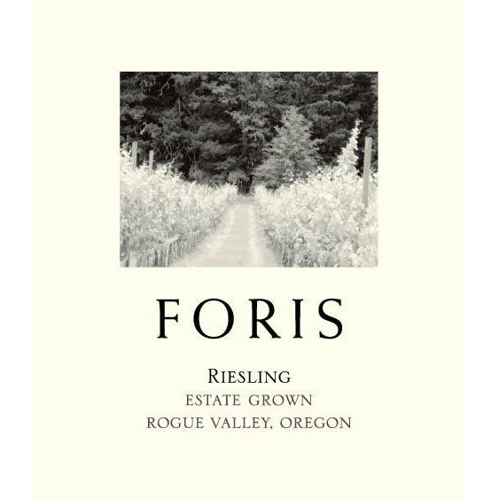 Foris Riesling 2016 Front Label