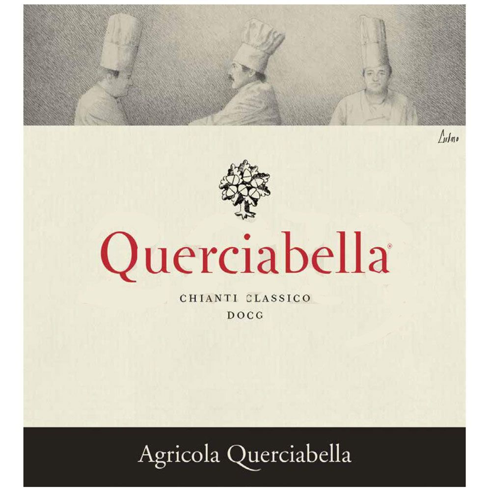Querciabella Chianti Classico (375ML half-bottle) 2014 Front Label