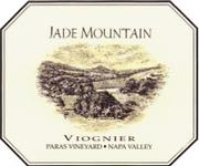 Jade Mountain Mt. Veeder Paras Vineyard Viognier 1999 Front Label