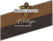 Kendall-Jackson Collage Zinfandel/Shiraz 1998 Front Label