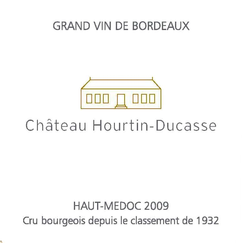Chateau Hourtin-Ducasse Haut-Medoc 2009 Front Label