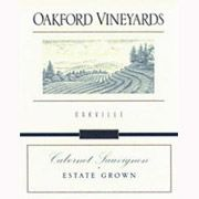 Oakford Vineyards Oakville Cabernet Sauvignon 1997 Front Label