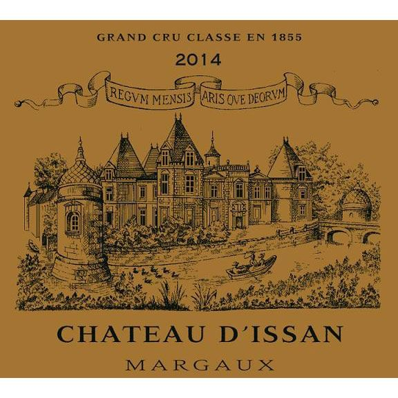 Chateau d'Issan  2014 Front Label