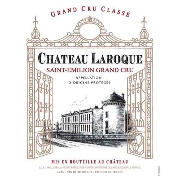 Chateau Laroque  2016 Front Label