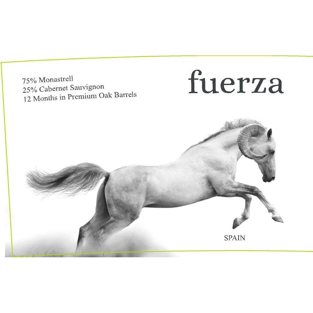 Ego Bodegas Fuerza 2013 Front Label