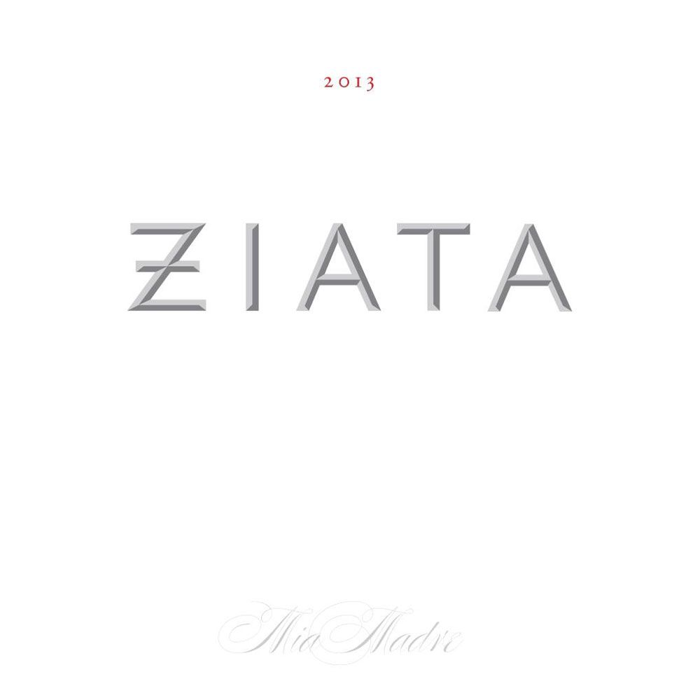 Ziata Mia Madre Red Blend 2013 Front Label