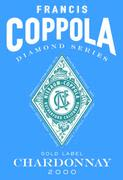 Francis Ford Coppola Diamond Collection Chardonnay (375ML half-bottle) 1999 Front Label