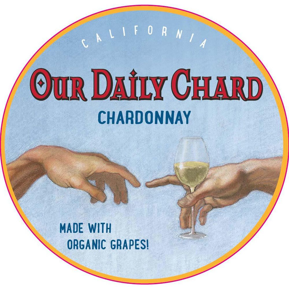 Our Daily Chardonnay 2016 Front Label