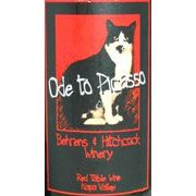 Behrens & Hitchcock Ode to Picasso Red (1.5L Magnum) 1999 Front Label
