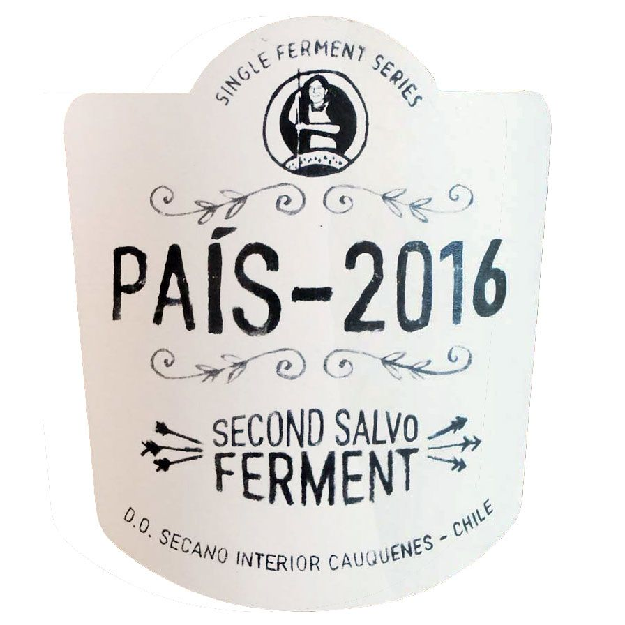 Garage Wine Co. Pais Second Salvo Ferment 2016 Front Label
