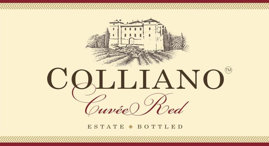 Colliano Cuvee Red 2012 Front Label