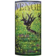 Venge Vineyards Family Reserve Cabernet Sauvignon 1996 Front Label