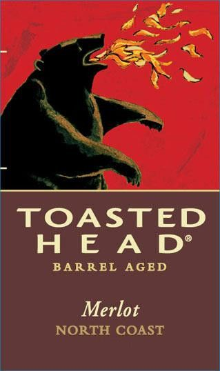 Toasted Head Merlot 2012 Front Label
