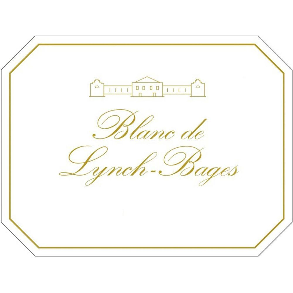 Chateau Lynch-Bages Blanc de Lynch-Bages 2016 Front Label