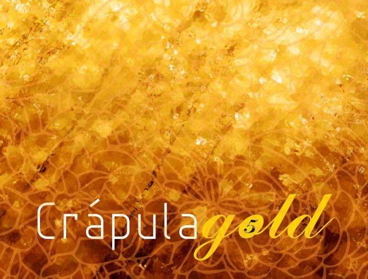 Crapula Wines Gold 2013 Front Label